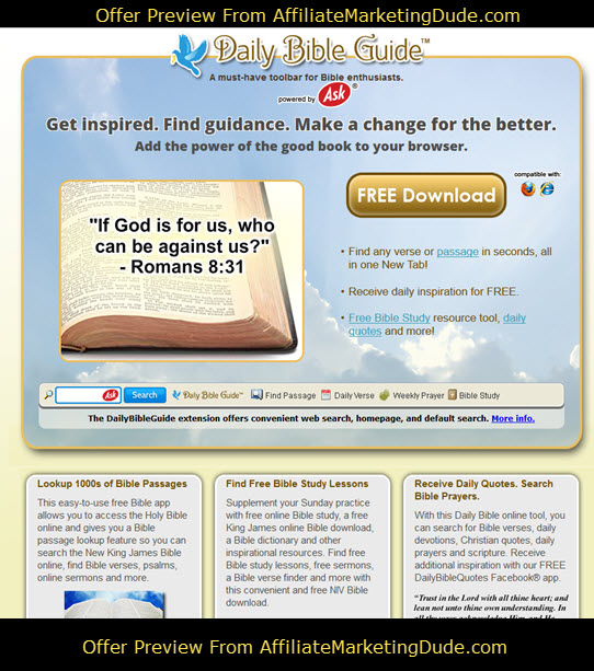 Daily Bible Guide Read The Bible Online Bible Toolbar Download