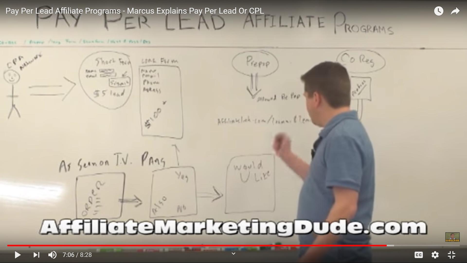 Pay Per Lead Affiliate Programs Marcus Explains Pay Per Lead