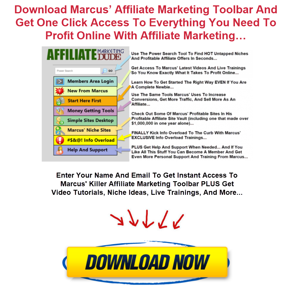 Affiliate Marketing Toolbar