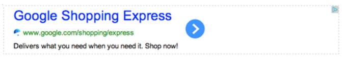 example google adsense ad block